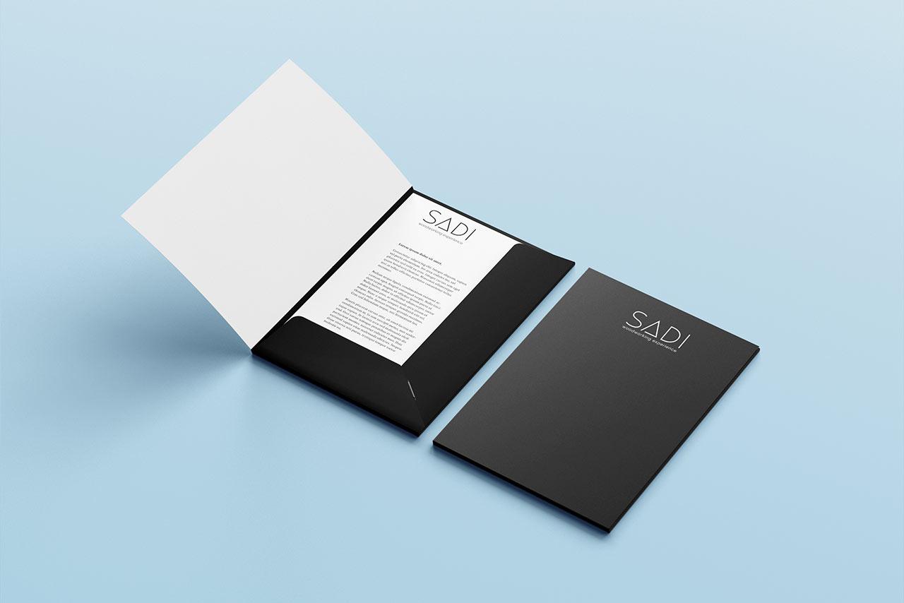 creazione cartellette personalizzate aziendali